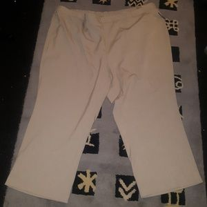 Catherines refined fit tan trousers new with tags
